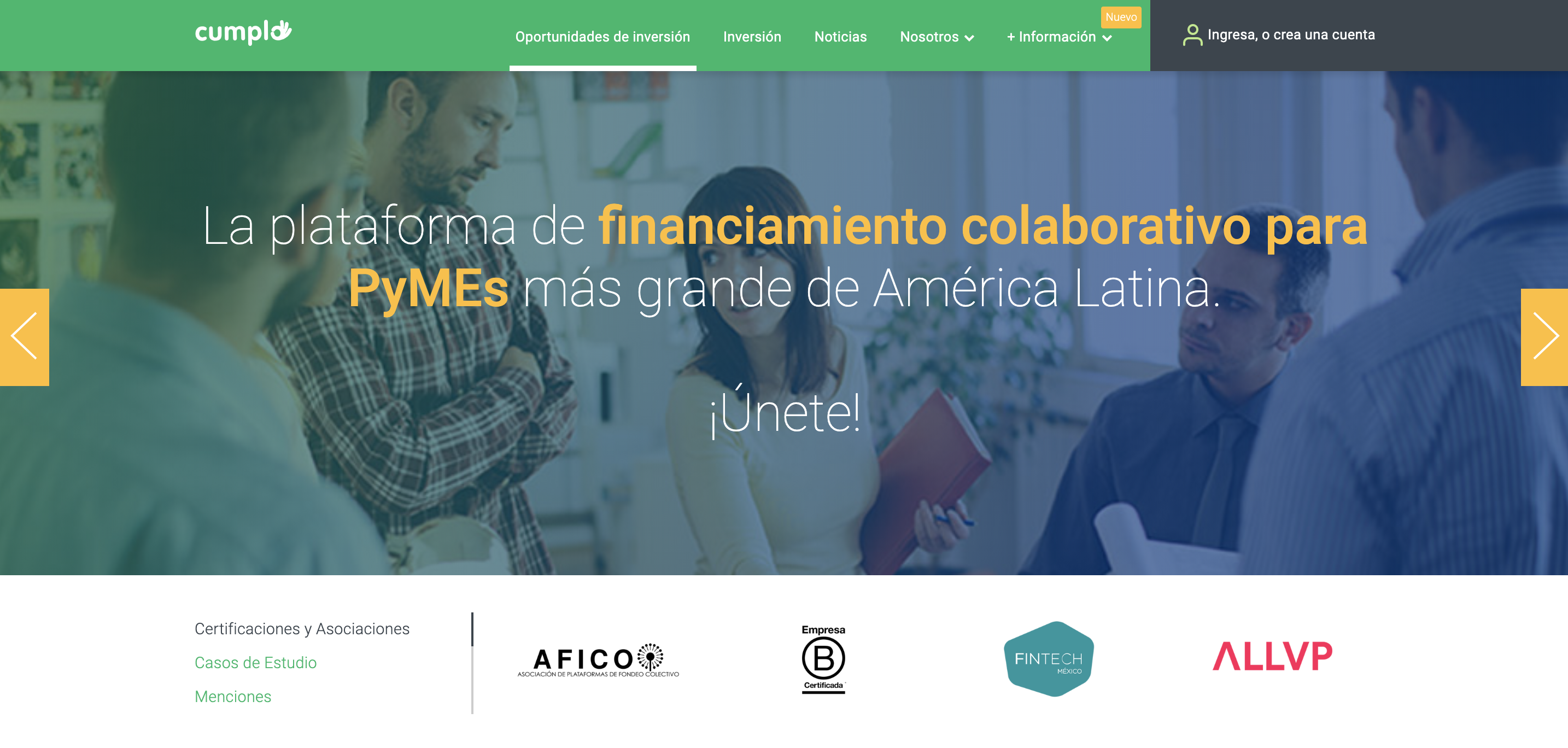 fintech ahorro e inversion