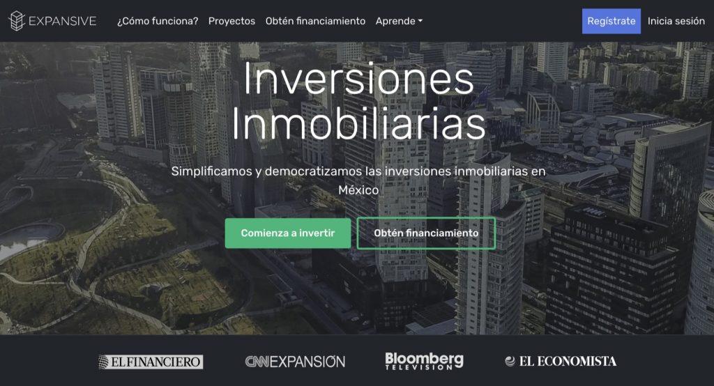 Expansive empresa fintech inmobiliaria